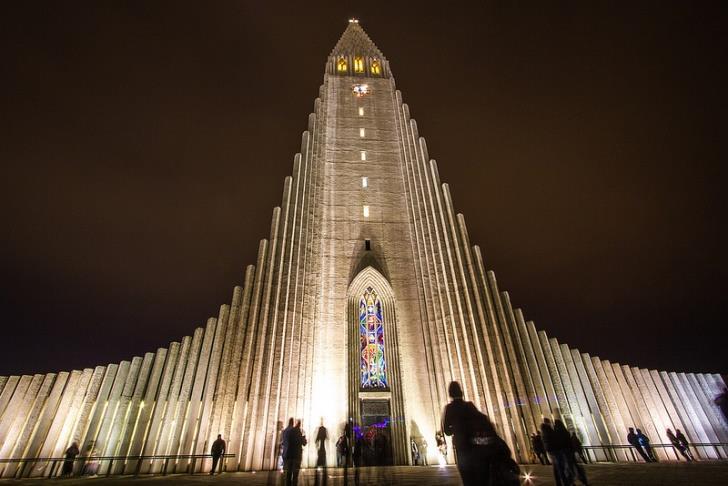 chiesa di Hallgrimskirkja