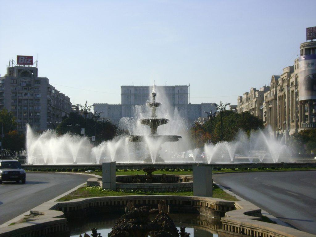 Piata Unirii Bucarest