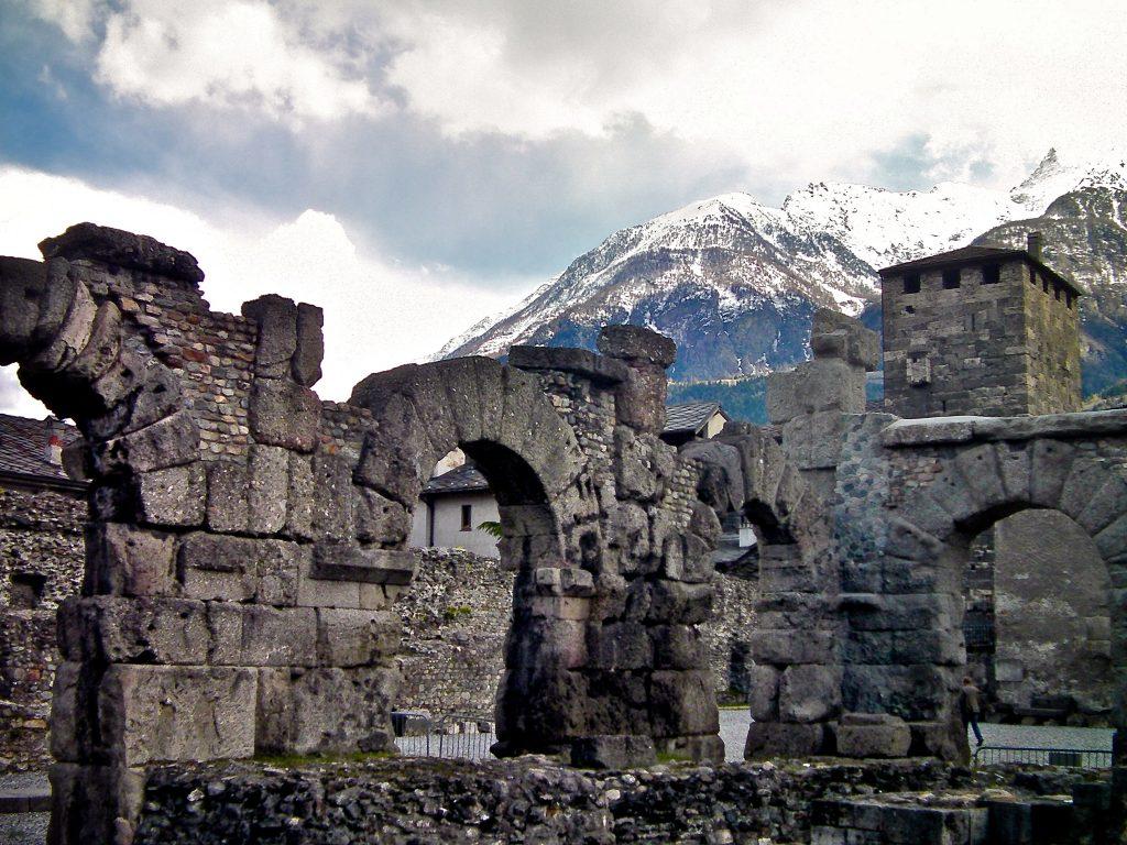Aosta Cosa Vedere: Teatro Romano