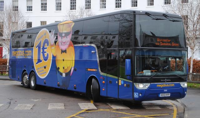 Recensione su Megabus