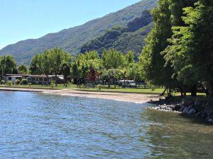 Spiagge lago di Como